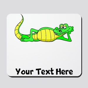 Alligator Posing (Custom) Mousepad
