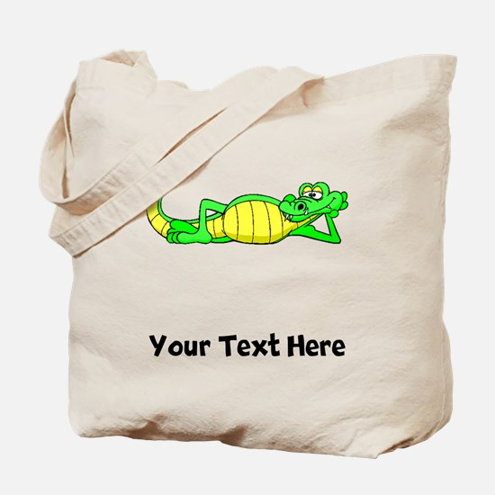 Alligator Posing (Custom) Tote Bag