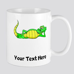 Alligator Posing (Custom) Mugs