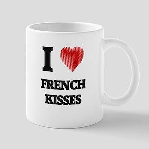 I love French Kisses Mugs
