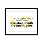 Smith 2008 Framed Panel Print