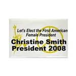 Smith 2008 Rectangle Magnet