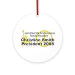 Smith 2008 Ornament (Round)