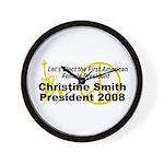 Smith 2008 Wall Clock