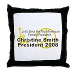 Smith 2008 Throw Pillow