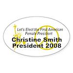 Smith 2008 Oval Sticker