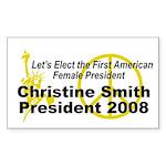 Smith 2008 Rectangle Sticker