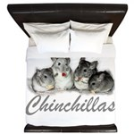 Chinchillas King Duvet