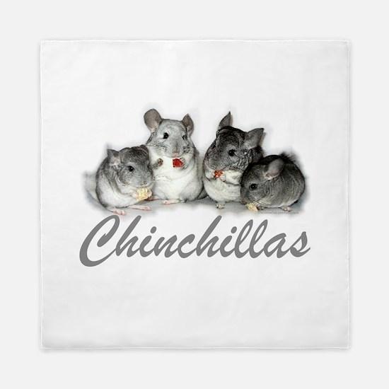 Chinchillas Queen Duvet