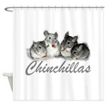 Chinchillas Shower Curtain