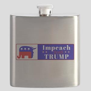 Impeach Trump 2018 Flask