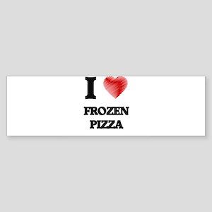 I love Frozen Pizza Bumper Sticker
