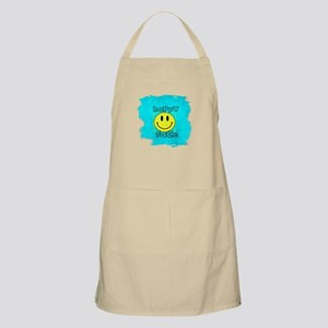 smiley happy face edgy Apron
