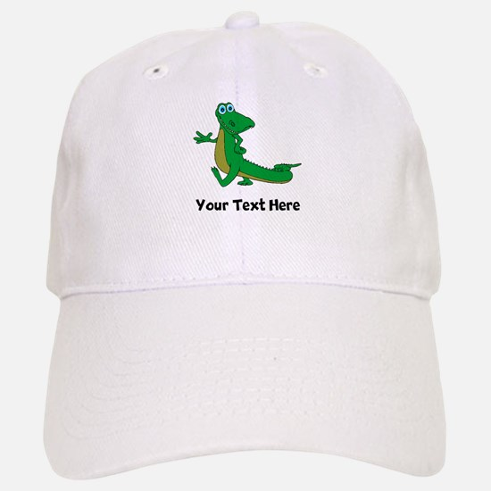 Cartoon Alligator (Custom) Baseball Baseball Baseball Cap