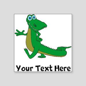 Cartoon Alligator (Custom) Sticker