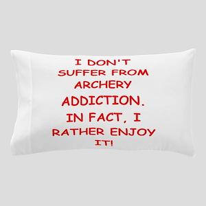 archery joke Pillow Case