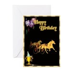 Harness Racing Birthday Cards (Pk of 10)