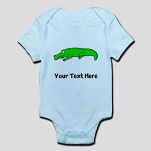 Green Alligator (Custom) Body Suit