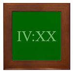 IV:XX Framed Tile