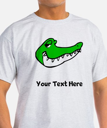 Alligator Face (Custom) T-Shirt