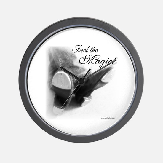 Feel the Magic! Wall Clock