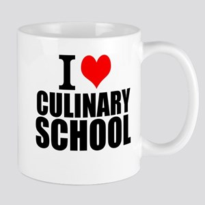 I Love Culinary School Mugs