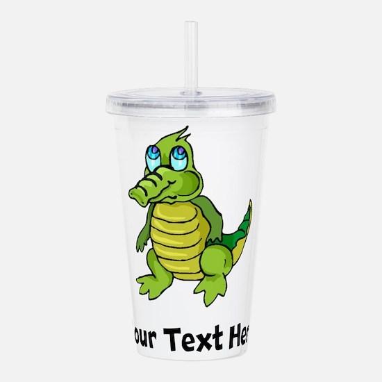 Baby Alligator (Custom) Acrylic Double-wall Tumble