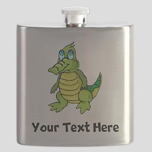 Baby Alligator (Custom) Flask