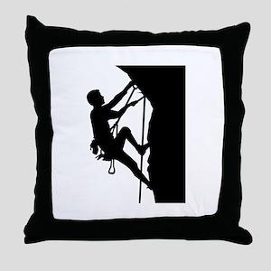 Climbing Throw Pillow