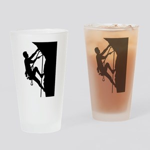 Climbing Drinking Glass