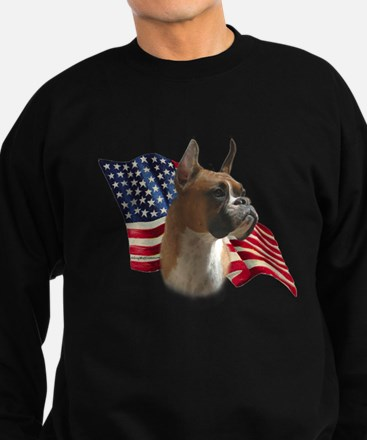 Boxer Flag Sweatshirt