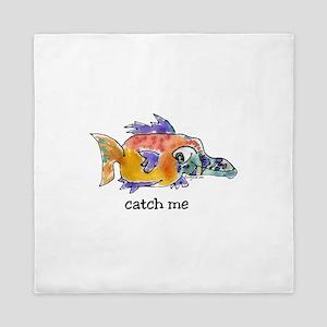 Catch Me Butterflyfish Queen Duvet