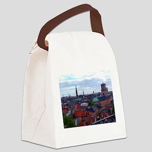 Heavenly Copenhagen Canvas Lunch Bag