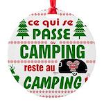 Tasse Camping RV Ornament
