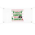 Tasse Camping RV Banner