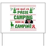 Tasse Camping RV Yard Sign