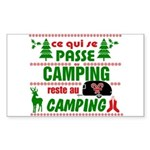 Tasse Camping RV Sticker