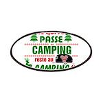 Tasse Camping RV Patch
