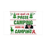 Tasse Camping RV Wall Decal
