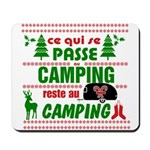 Tasse Camping RV Mousepad