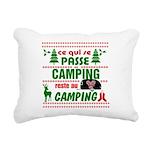 Tasse Camping RV Rectangular Canvas Pillow