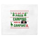 Tasse Camping RV King Duvet