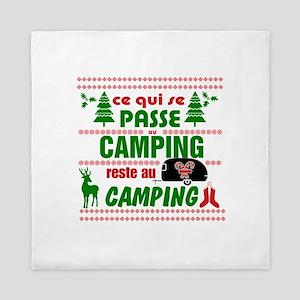 Tasse Camping RV Queen Duvet