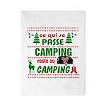 Tasse Camping RV Twin Duvet Cover