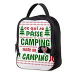 Tasse Camping RV Neoprene Lunch Bag