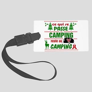 Tasse Camping RV Luggage Tag