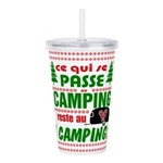Tasse Camping RV Acrylic Double-wall Tumbler