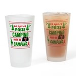 Tasse Camping RV Drinking Glass