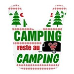 Tasse Camping RV Polyester Baby Bib