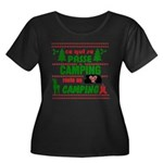 Tasse Camping RV Plus Size T-Shirt